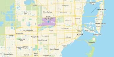 Karte Florida Miami.Miami Map Karten Miami Florida Usa